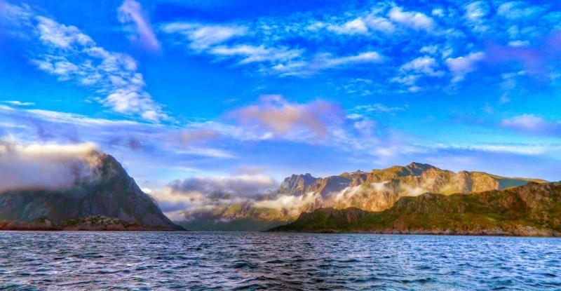 Норвегия на фото как найти место