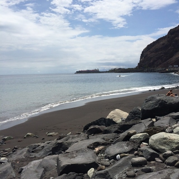 Немного пляжей сентябрьского Тенерифе.