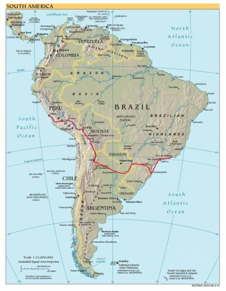 Туристический Маршрут По Южной Америке Презентация