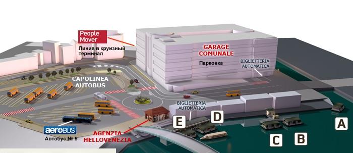 Аэропорт Венеции Марко Поло онлайн табло