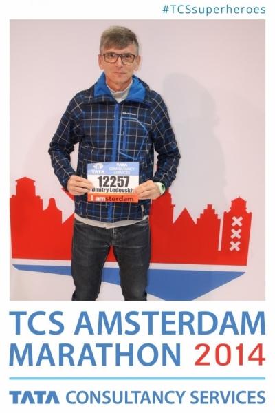 Марафон. Амстердам - 2014 TCSAM14