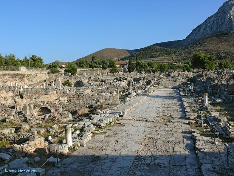 Коринф греция отзывы