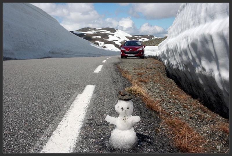 Канва маршрута по Норвегии. Для первой поездки от 5 и более дней