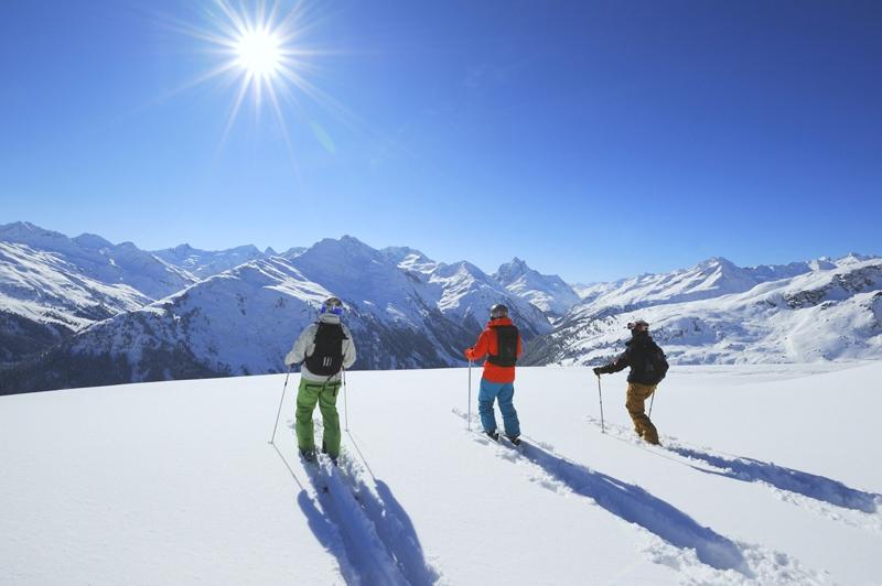 Австрийские горнолыжные курорты, список мест в Австрии.