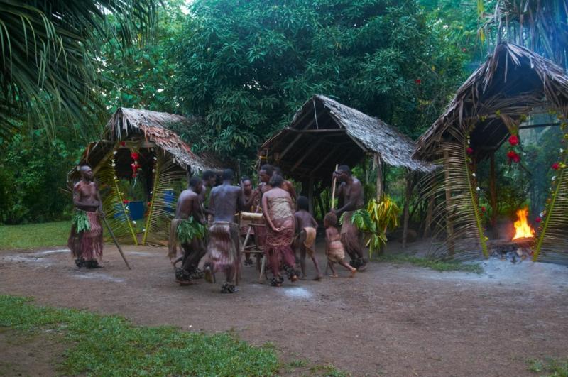 Вануату. остров Эспириту Санто.