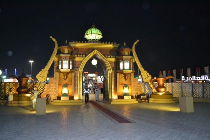 Рождественский Дубай - 2015.