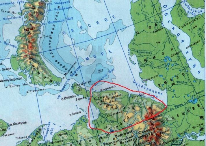 Югорский полуостров что посмотреть