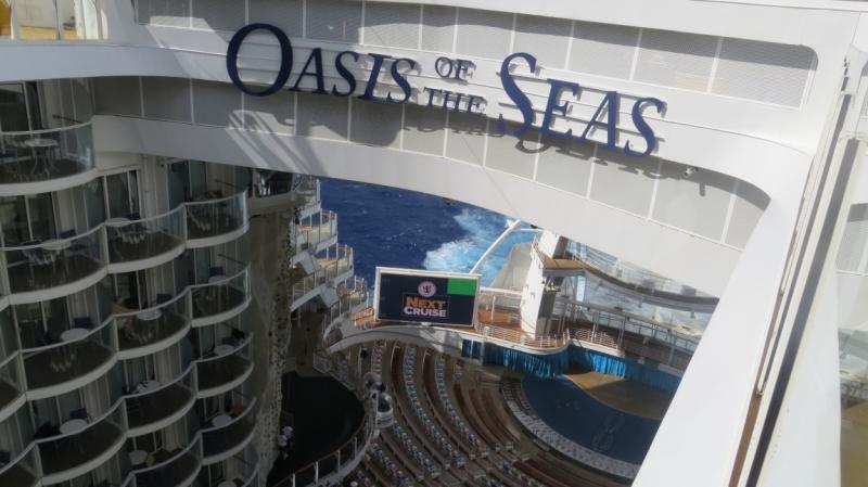 Oasis of the Seas - наш первый круиз
