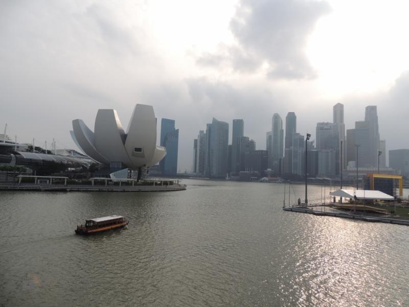 """""""И моё сердце остановилось,моё сердце замерло..."""" Неделя в Сингапуре, январь 2015"""