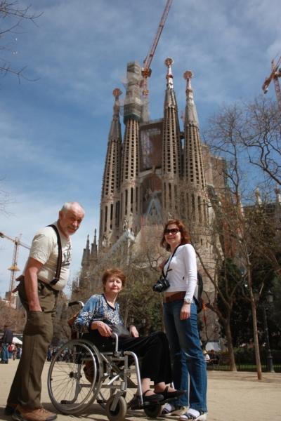 Барселона для инвалида-колясочника.