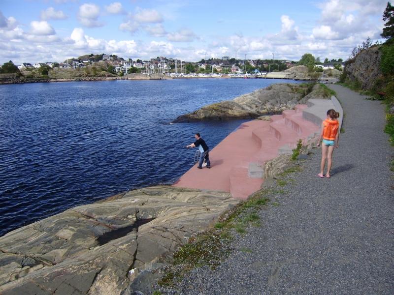 на рыбалку в норвегию на своей машине