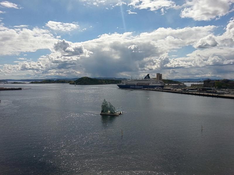 Сити брейк - Осло (город голых людей и бегущих блондинов)