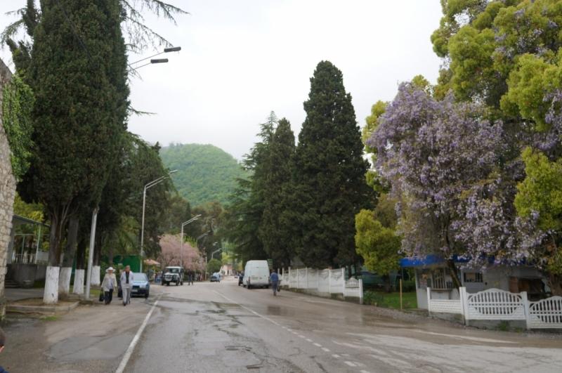 Из Сочи в Абхазию 1-м днем