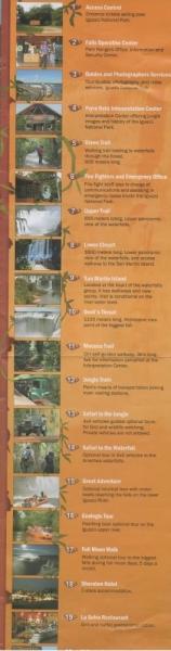 Водопады Игуасу- бразильская и аргентинская сторона