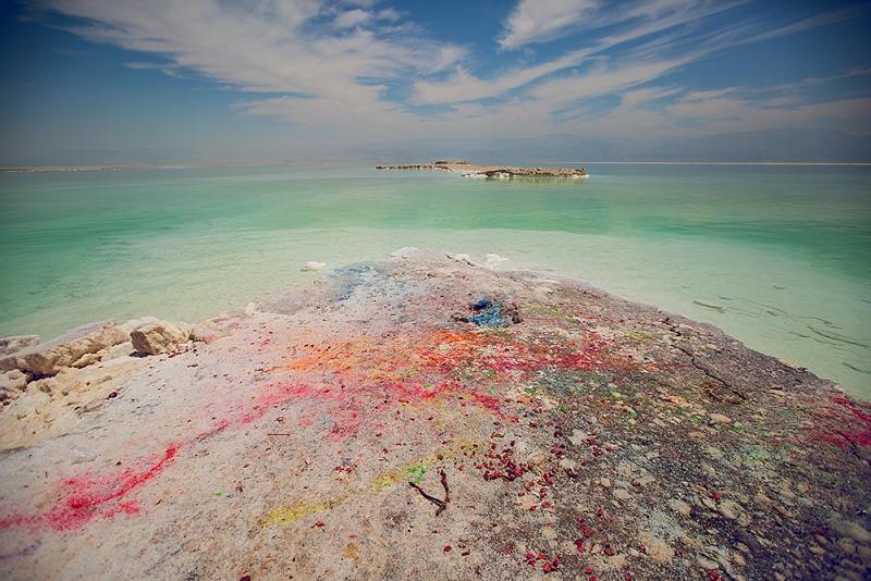 Красивое Мертвое Море(как на фото в интернете). Где?
