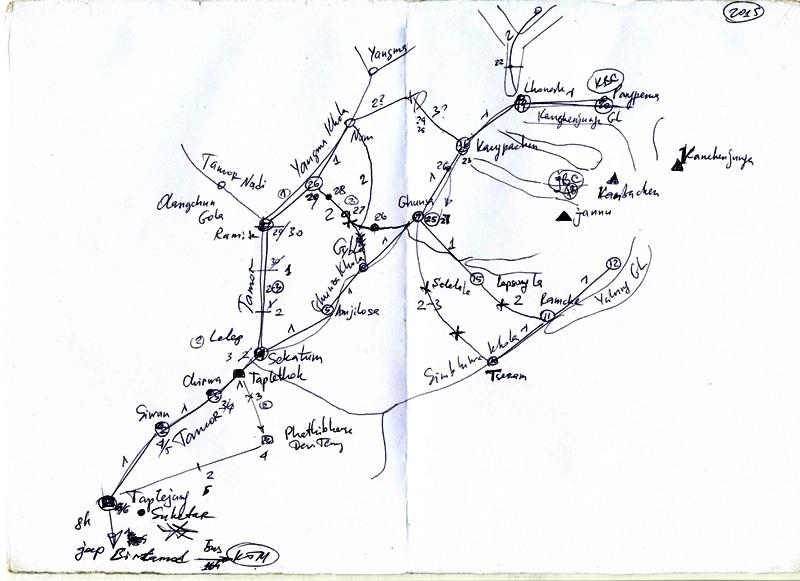 Док и Турик по стандартным маршрутам нп Канченджанга или десять оттенков матрасинга
