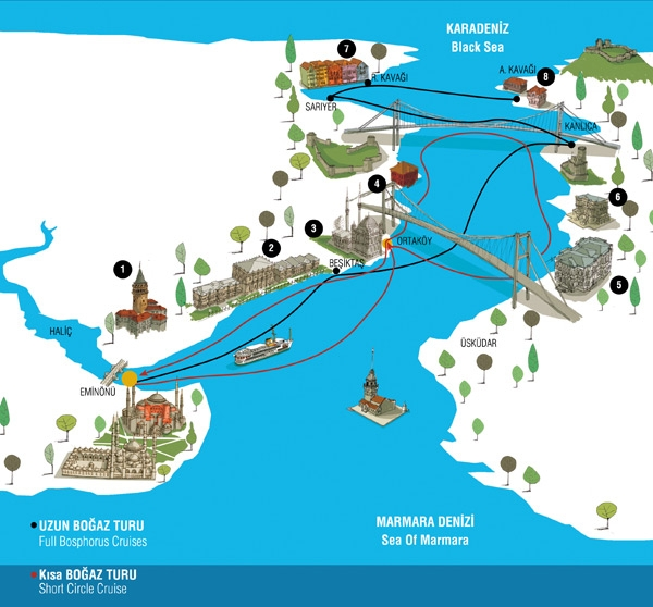 Стамбул. Три маршрута по целому дню для новичка.