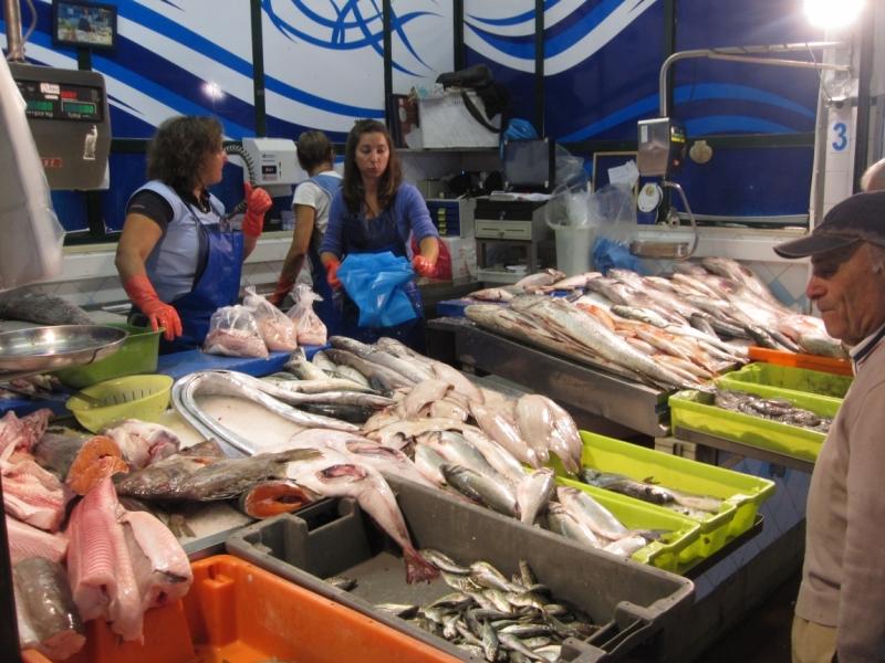 Рыбный рынок Лиссабон.