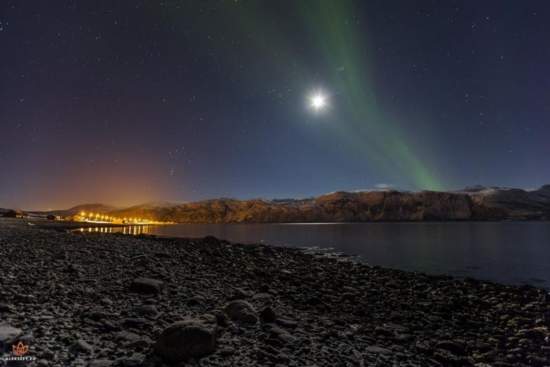 Фотоохота на северное сияние. Фотоотчет