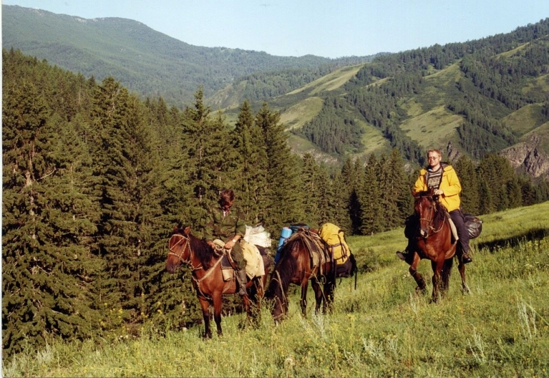 Легенды Горного Алтая (на лошадях к подножью Белухи в июле)
