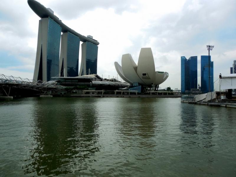 Сингапур – прогулка по городу.