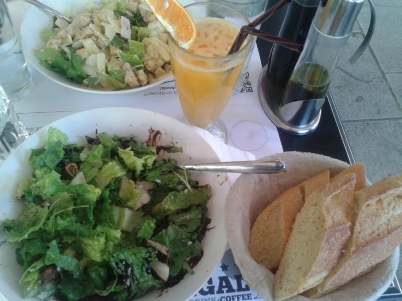 Афины. Рестораны.
