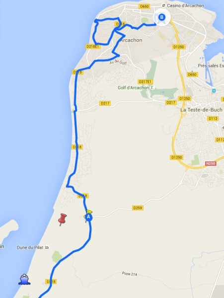 100 км Парижа или Парижские путевые заметки