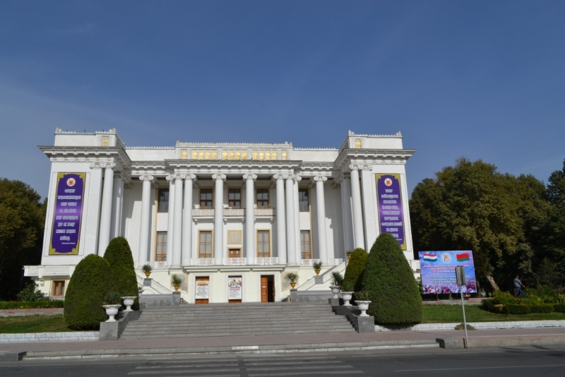 Таджикистан, Душанбе октябрь 2015.