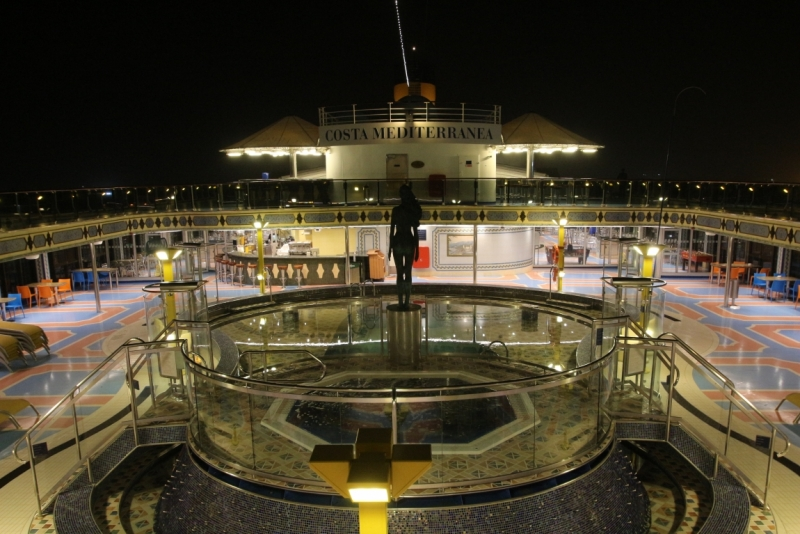 Первый круиз с компанией Сosta, Корабль  Сosta Mediterranea по Адриатике в ноябре 2015
