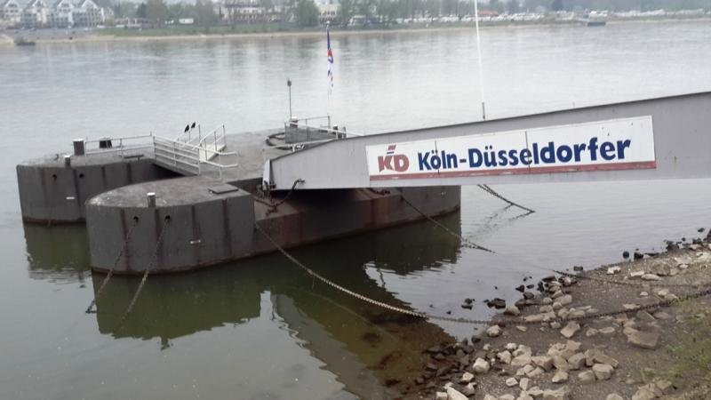 На воды! Западная Германия. 2014 апрель.