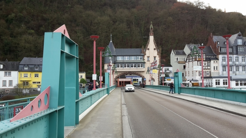 Долина Мозеля, замок Satzwey и Бад-Мюнстерайфель - декабрь 2015.