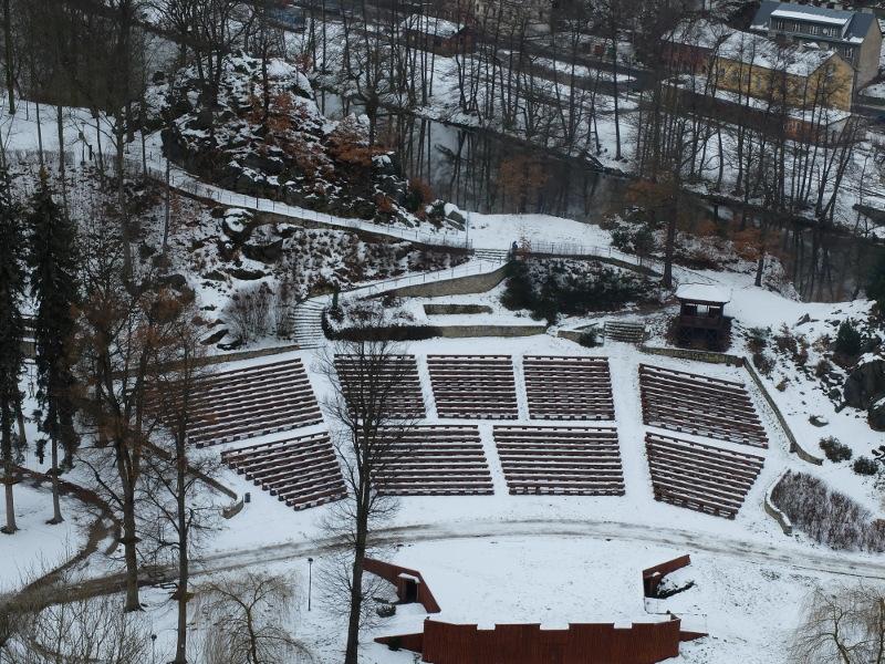 Снежный Локет и карловарские достопримечательности