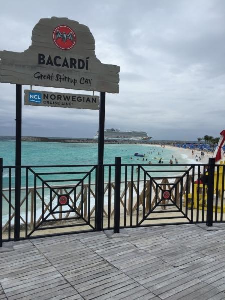 Зима под карибским солнцем: круиз Norwegian Getaway в январе 2016