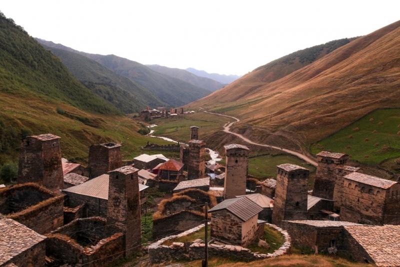 Большой фотоотчет (Гудаури, Шатили, Тбилиси, Местия, Ушгули) сентябрь 2013