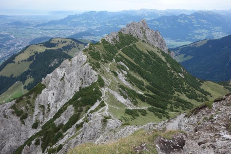 Впервые в Альпы пешком.