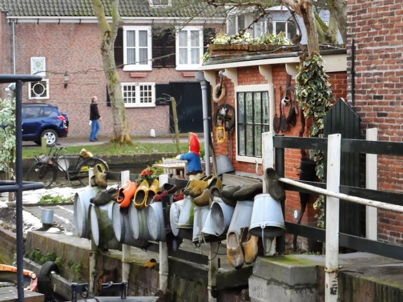 Январские пейзажи Голландии (Зандворт, Замок де Хаар, Роттердам, Эдам, Амстердам)