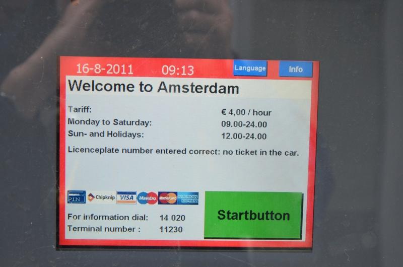 Оплата картой парковок в Нидерландах. Какую платежную карту и какого банка оформлять ?