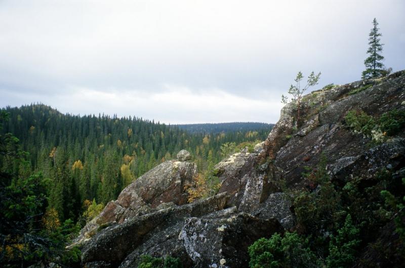 Описание маршрута на красивейшую гору Карелии - Лунас (495м)