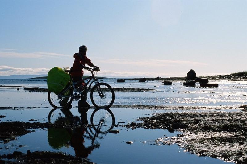 Рыбачий полуостров на велосипедах
