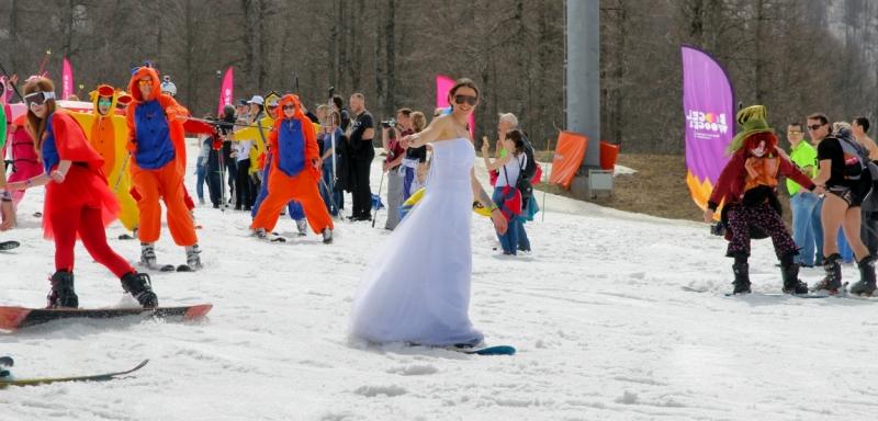 Карнавал Бугель Вугель Boogel-Woogel в Сочи на Роза Хутор