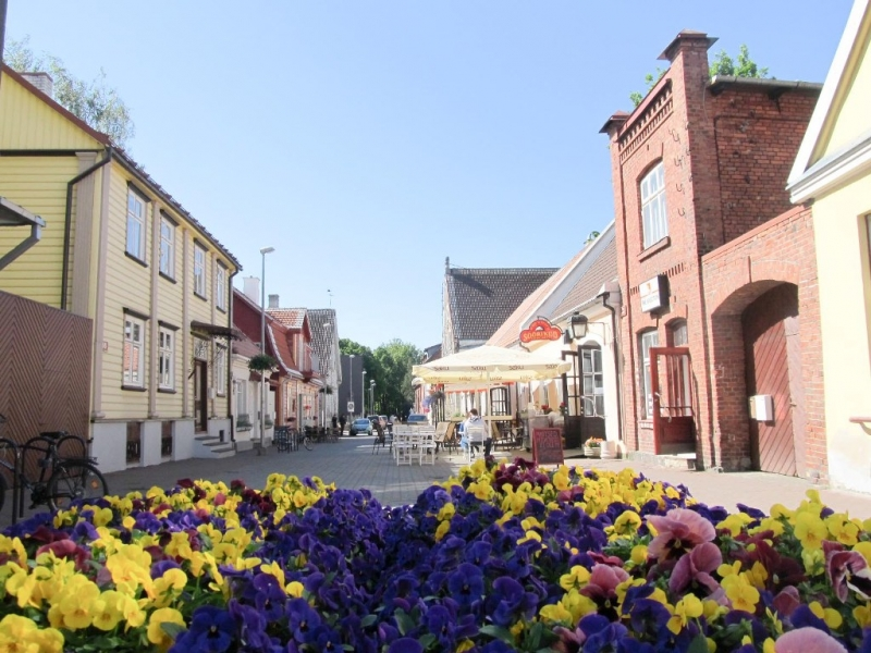 Пярну – Курессааре. Эстония. Июнь 2015