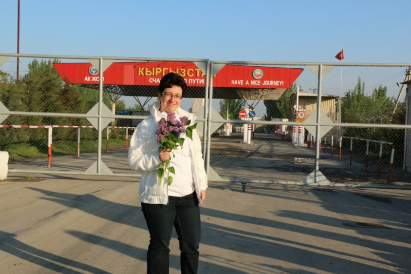 Я перешла границу в ош и попала в узбекистан