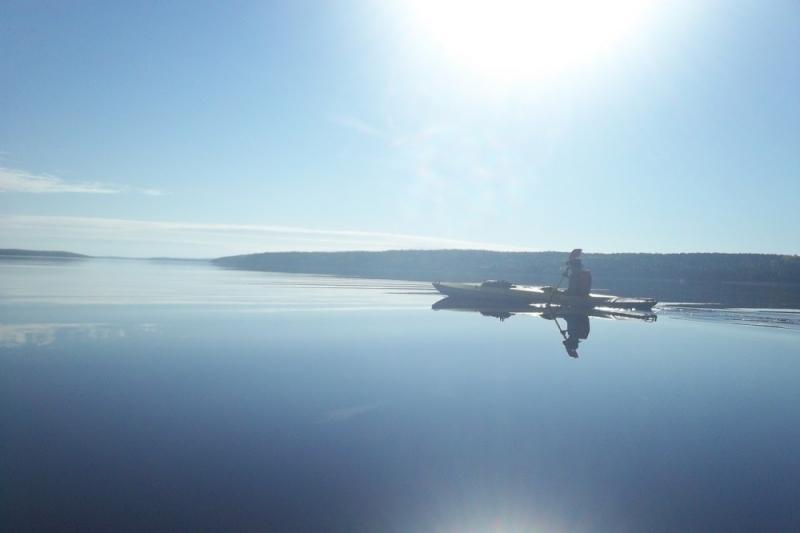 Карелия в сентябре. Сплав по реке Кереть с выходом в Белое море. Байдарки 3к.с.
