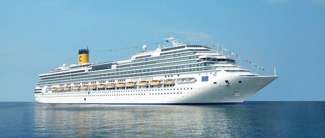 Круизный лайнер Costa Favolosa