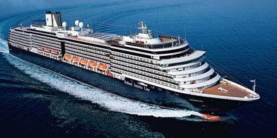 Круизный лайнер Noordam круизная компания Holland America Line