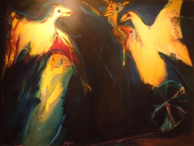 2016,май. Бродилки по Бергамо и северам Бергамщины(оз.Изео, Ловере, Громо, Клузоне и т.д.): дождь, озера, фрески, борги, призраки. Без а/м