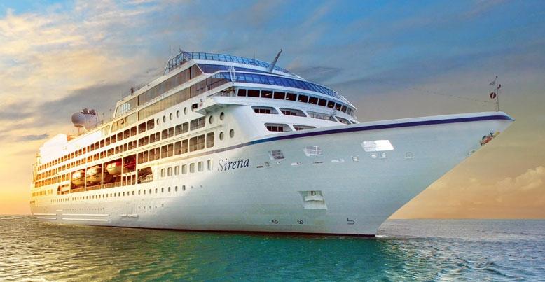 Круизный лайнер Oceania Sirena