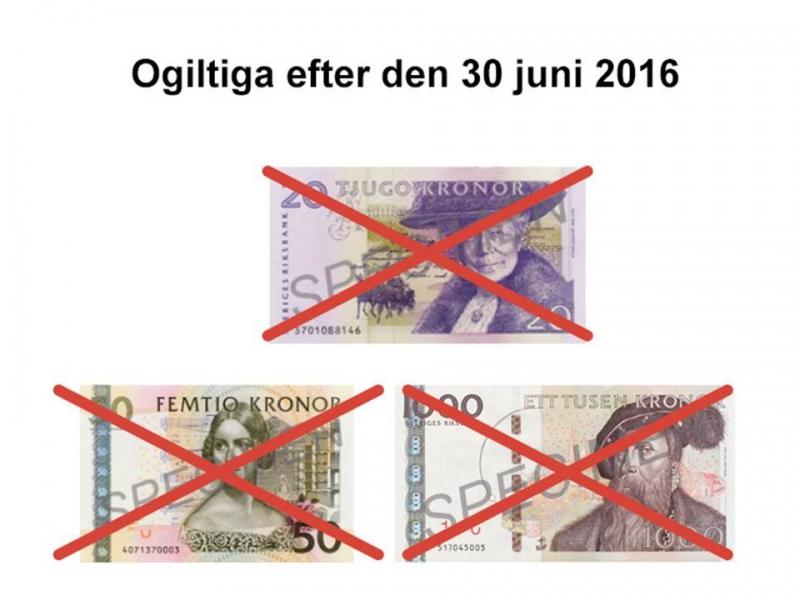 Покупка шведских/датских/ крон...