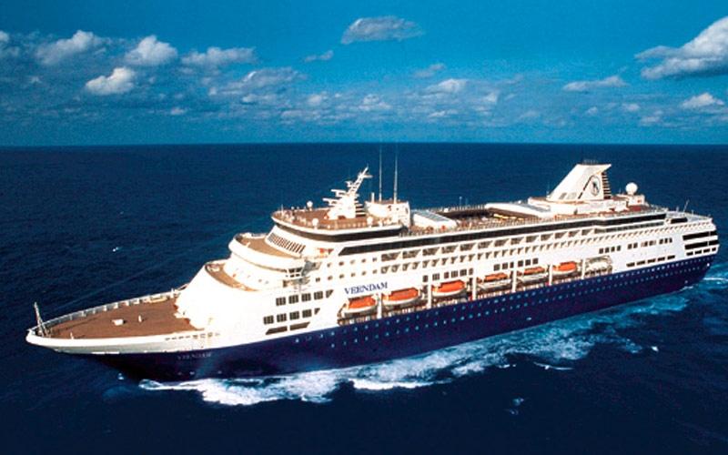 Круизный лайнер Veendam, круизная компания Holland America Line