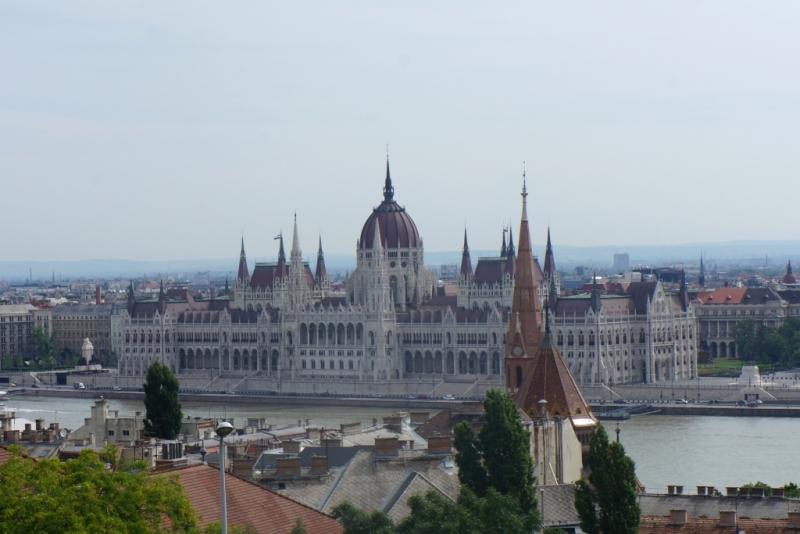 Бегом по Будапешту (Венгрия, июнь 2016)